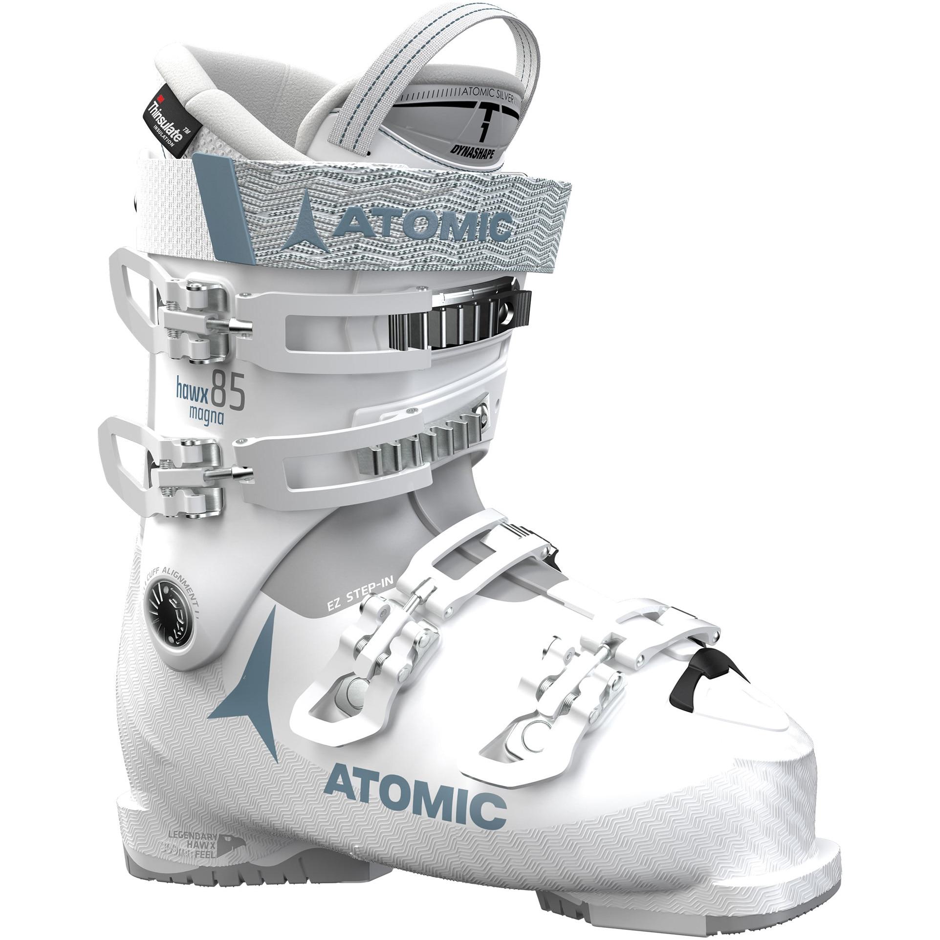 Fotografie Clapari Atomic Hawx Magna 85 W, White/Light Grey, White/Light Grey, 25, 25.5