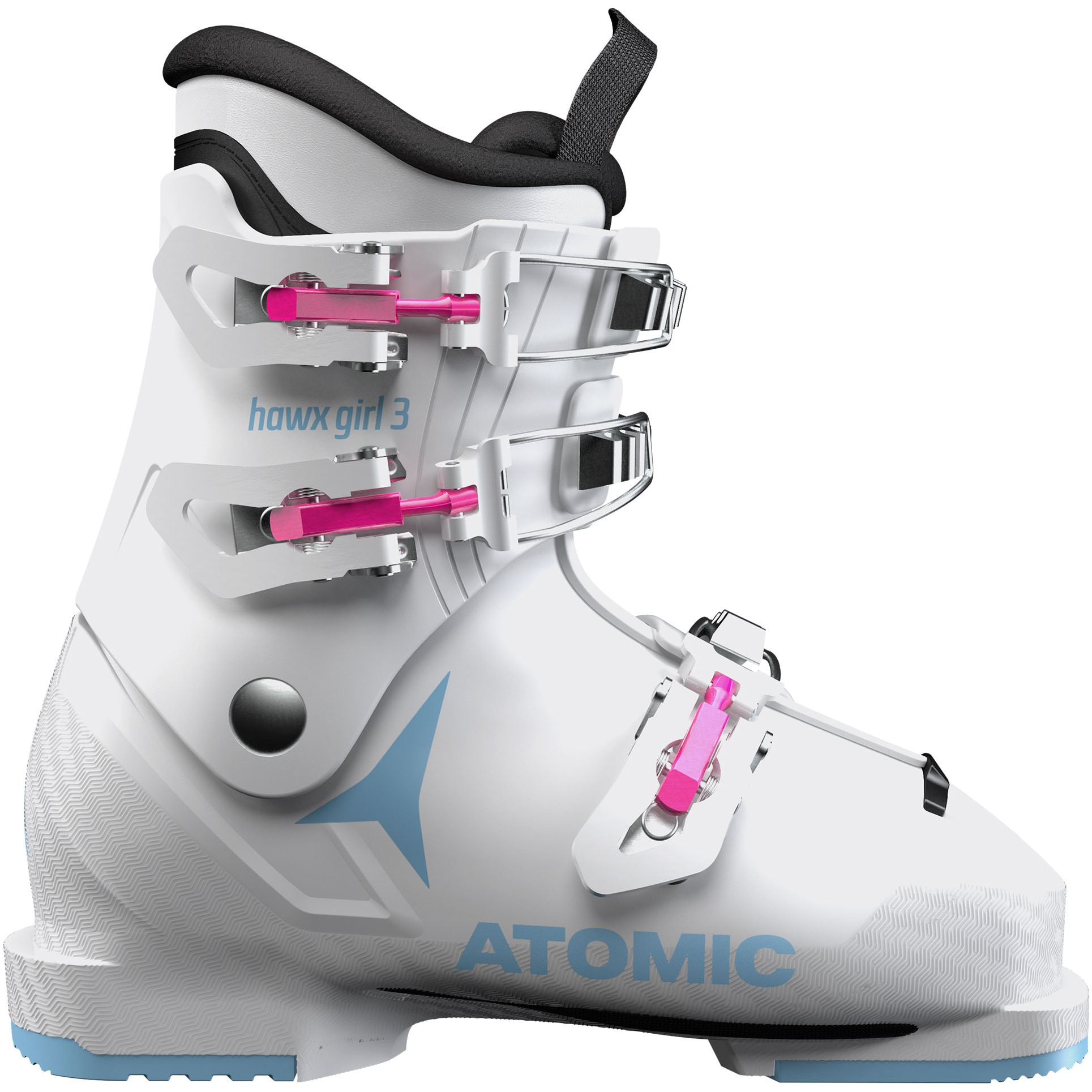 Fotografie Clapari Atomic Hawx Girl 3, White/Denim Blue, White/Denim Blue, 21, 21.5
