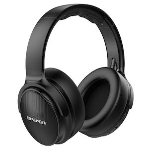 Casti Audio DC-Awei A780, Noise Canceling, Hi-Res, Explosive Bass, Wireless, Zero Ear Pressure - Negru