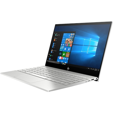 "Laptop ultraportabil HP ENVY 13-aq1001nq cu procesor Intel® Core™ i7-10510U pana la 4.90 GHz Comet Lake, 13.3"",Full HD, IPS, 16GB, 512GB SSD, Nvidia GeForce MX250 2GB, Windows 10 Home, Natural silver"