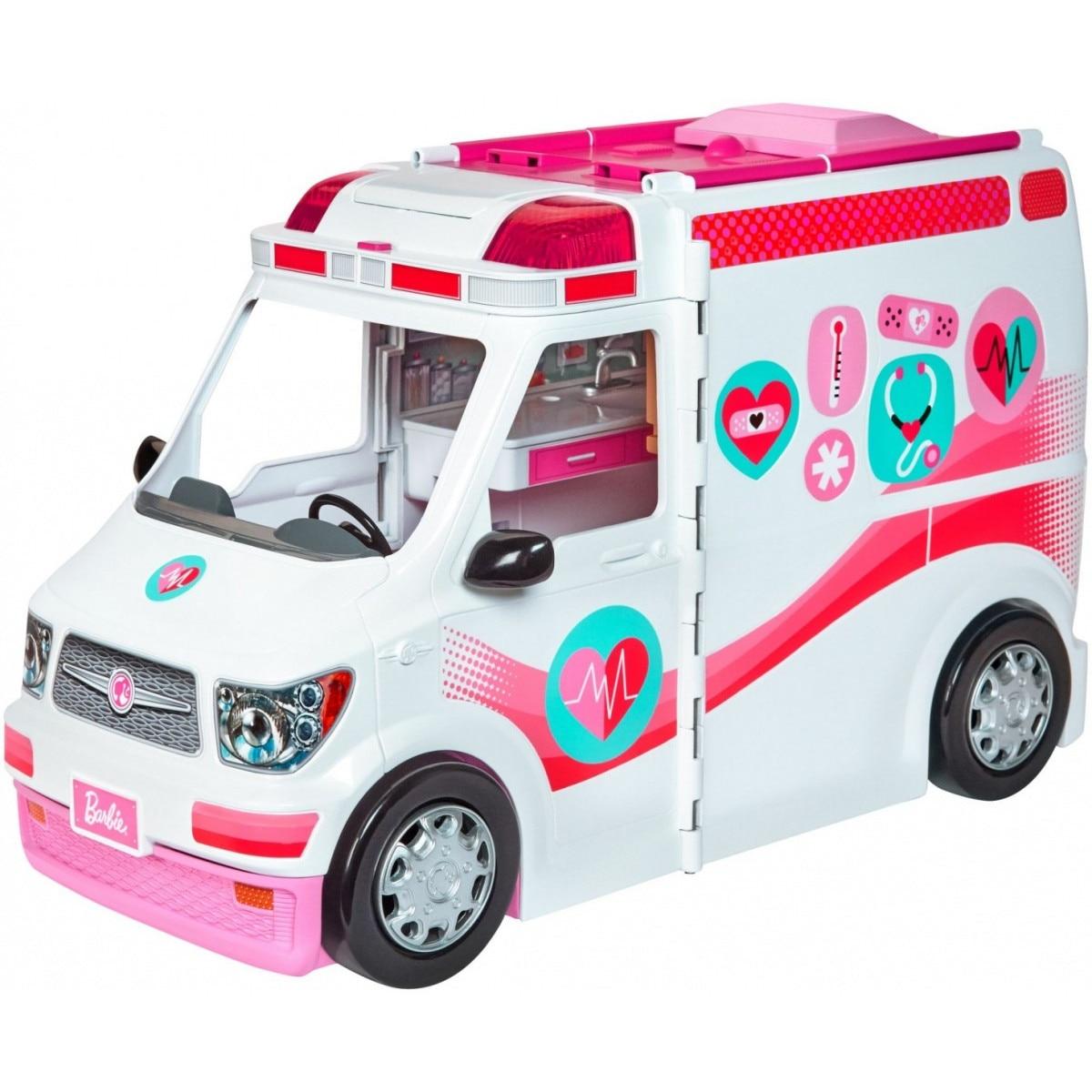 Barbie Auto Es Jatek Baba Egy Csomagban Mattel Emag Hu