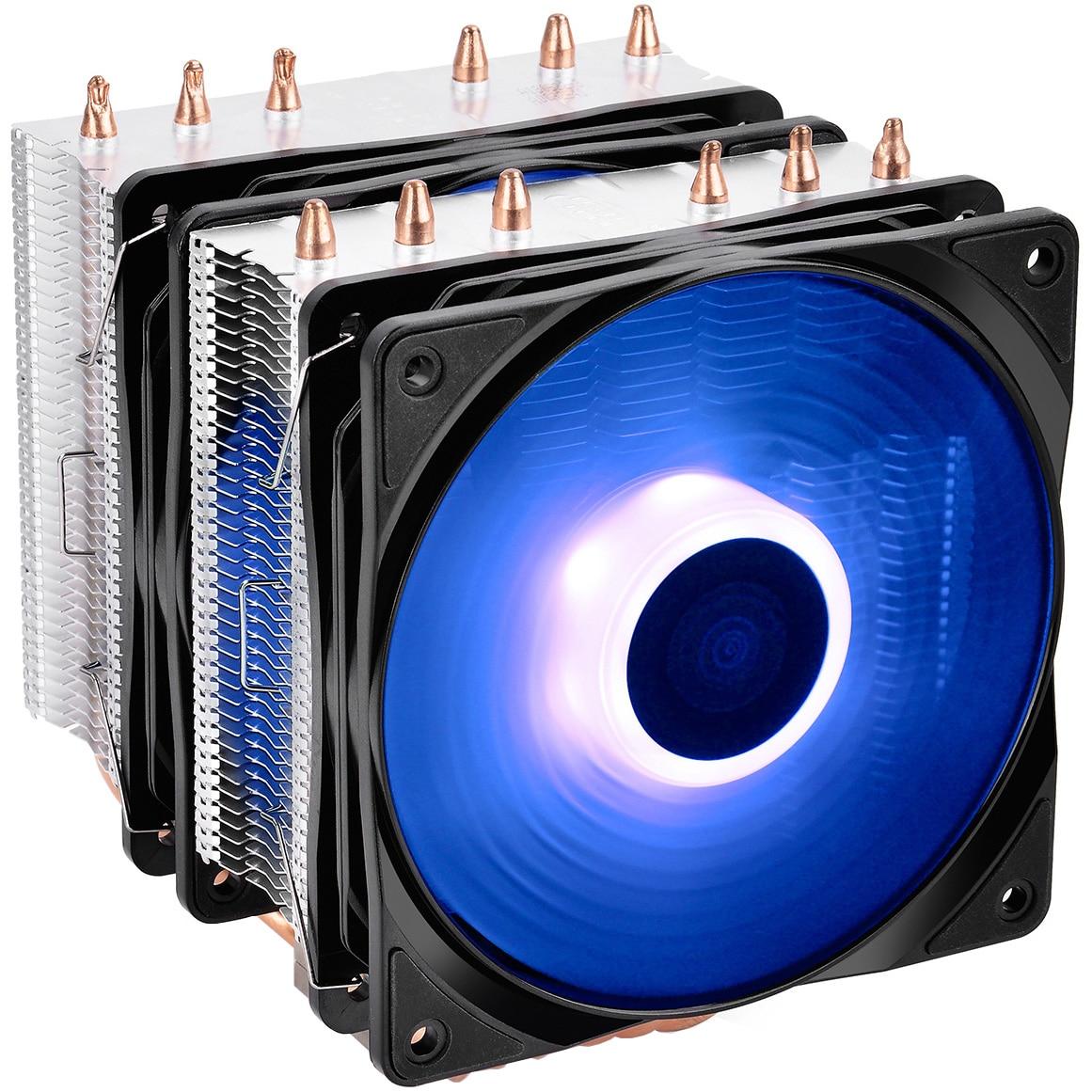 Fotografie Cooler procesor Deepcool Neptwin RGB, compatibil AMD/Intel