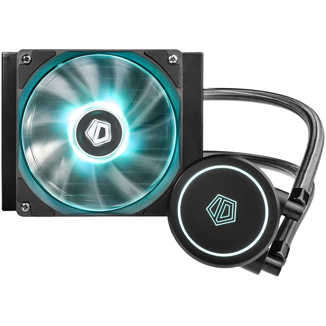 Fotografie Cooler procesor ID-Cooling Auraflow X 120, compatibil AMD/Intel