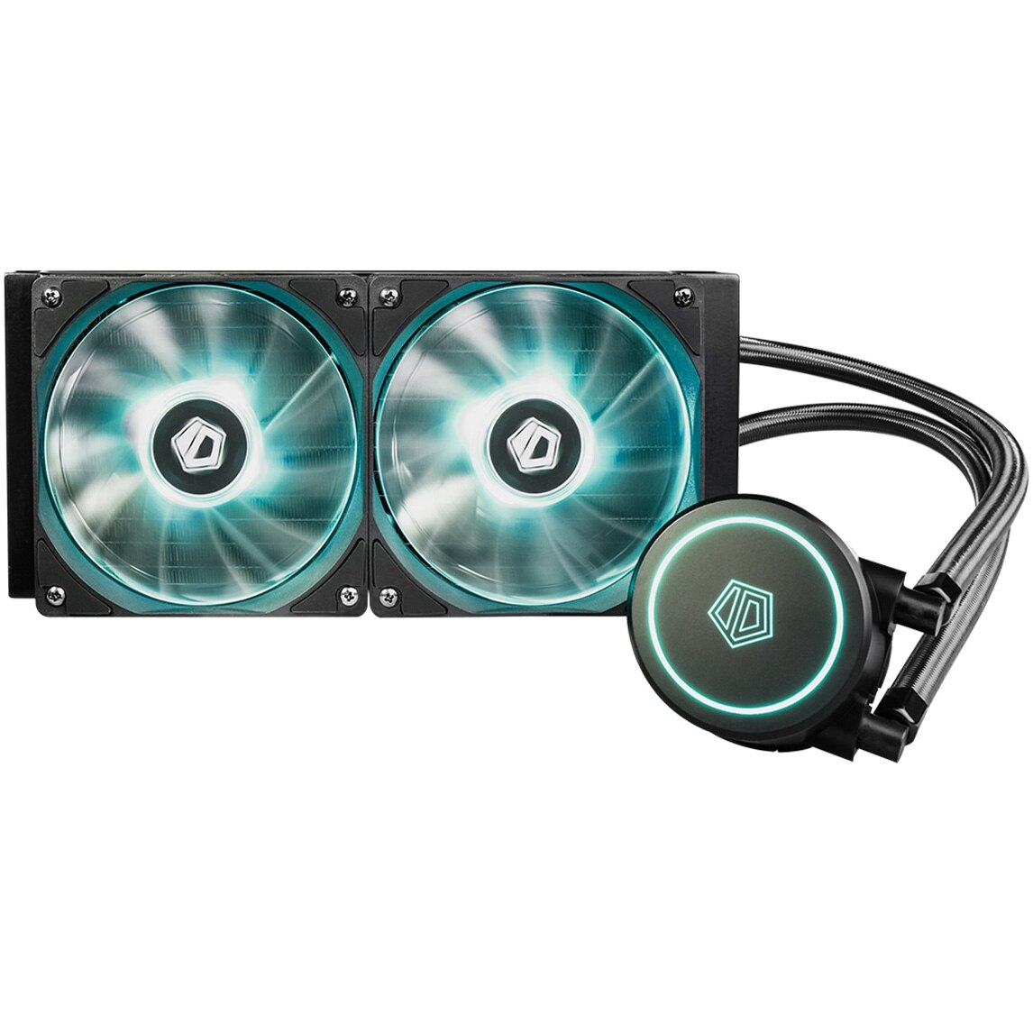 Fotografie Cooler procesor ID-Cooling Auraflow X 240, compatibil AMD/Intel