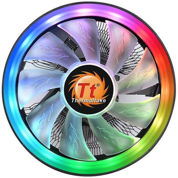 Fotografie Cooler procesor Thermaltake UX100, cu iluminare ARGB, compatibil AMD/Intel