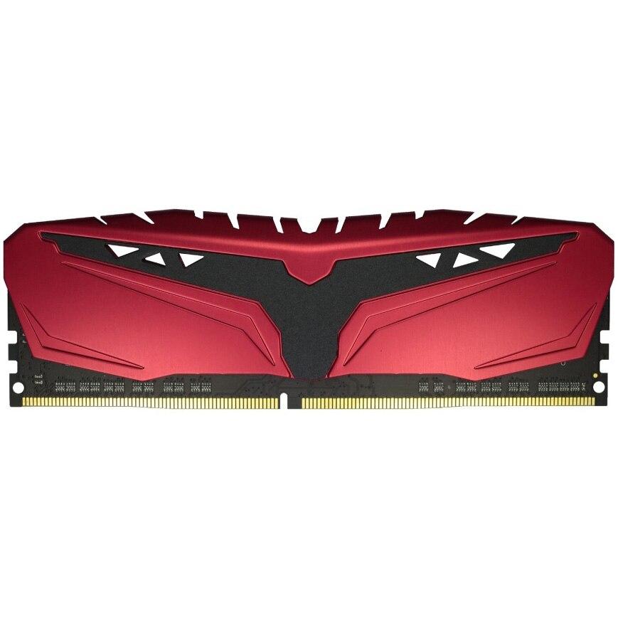 Fotografie Memorie Exceleram 4GB, DIMM, DDR4, 2666Mhz, CL16, 1.35V, rosu