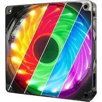 Inter-Tech L-12025 Aura ventilátor, 120mm, RGB