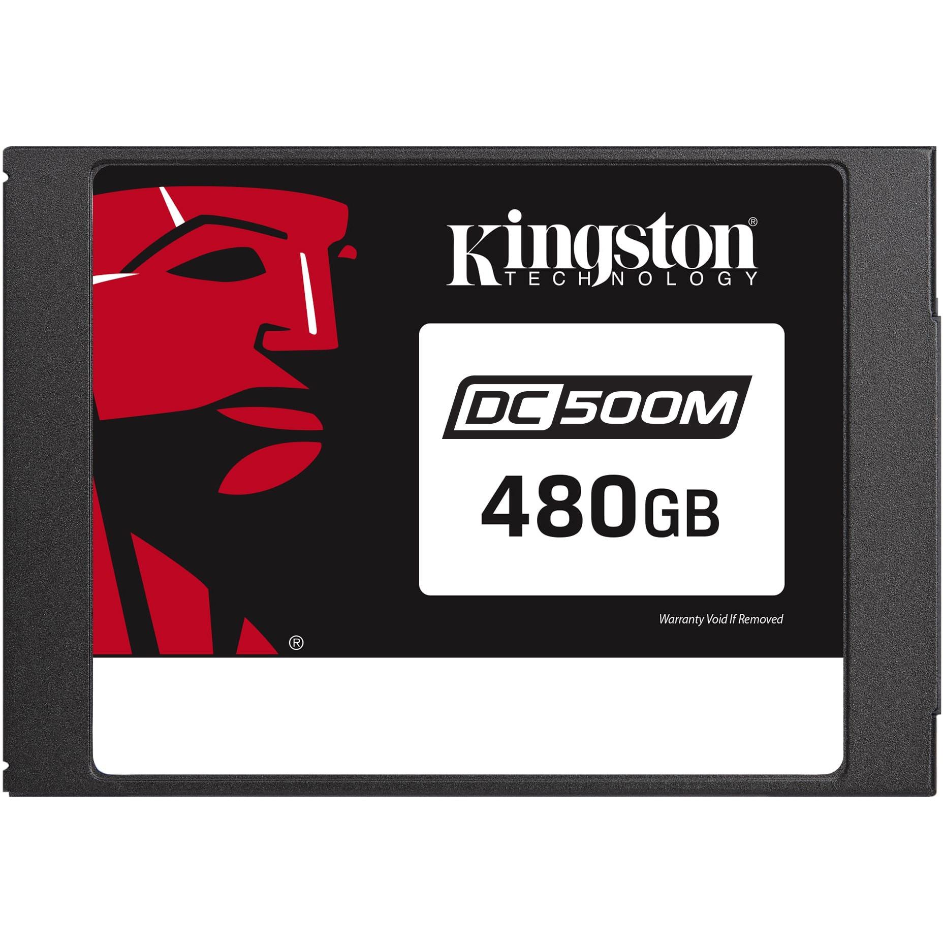 """Fotografie Solid State Drive (SSD) Kingston DC500M, 480GB, 2.5"""", SATA-III"""