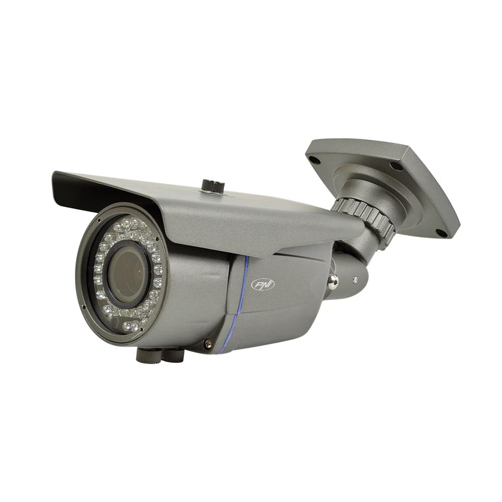 Fotografie Camera supraveghere video PNI IP2MP 1080P cu IP varifocala 2.8 - 12 mm de exterior