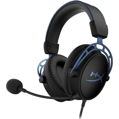Casti gaming HyperX Cloud Alpha S, Albastru