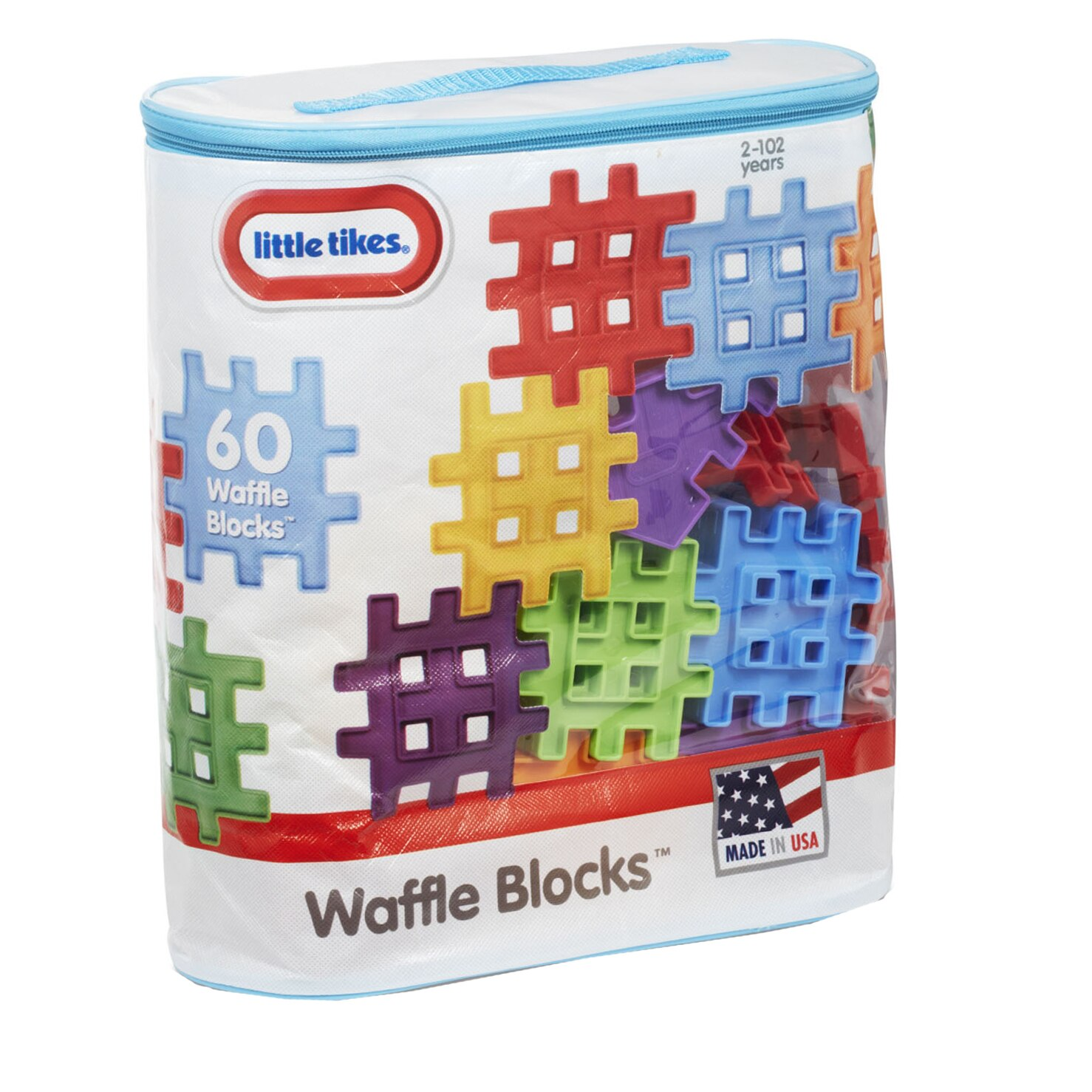 Fotografie Set de constructie Little Tikes - Waffle Bloks, 60 piese