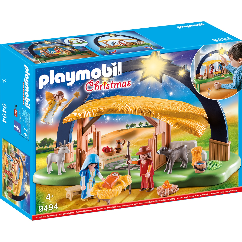 Fotografie Playmobil Christmas - Scena nasterii Domnului cu lumina