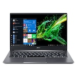 "Лаптоп Acer Swift 3 SF314-57G-513D, NX.HUEEX.006.250SSD, 14"", Intel Core i5-1035G1 1.00 GHz - 3.60 GHz 6 MB cache (4-ядрен), NVIDIA GeForce MX350 (2GB GDDR5), 8GB LPDDR4, сив"