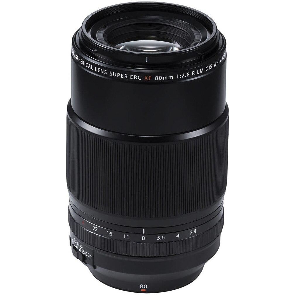 Fotografie Obiectiv Foto Mirrorless Fujifilm XF 80 mm, F/2.8