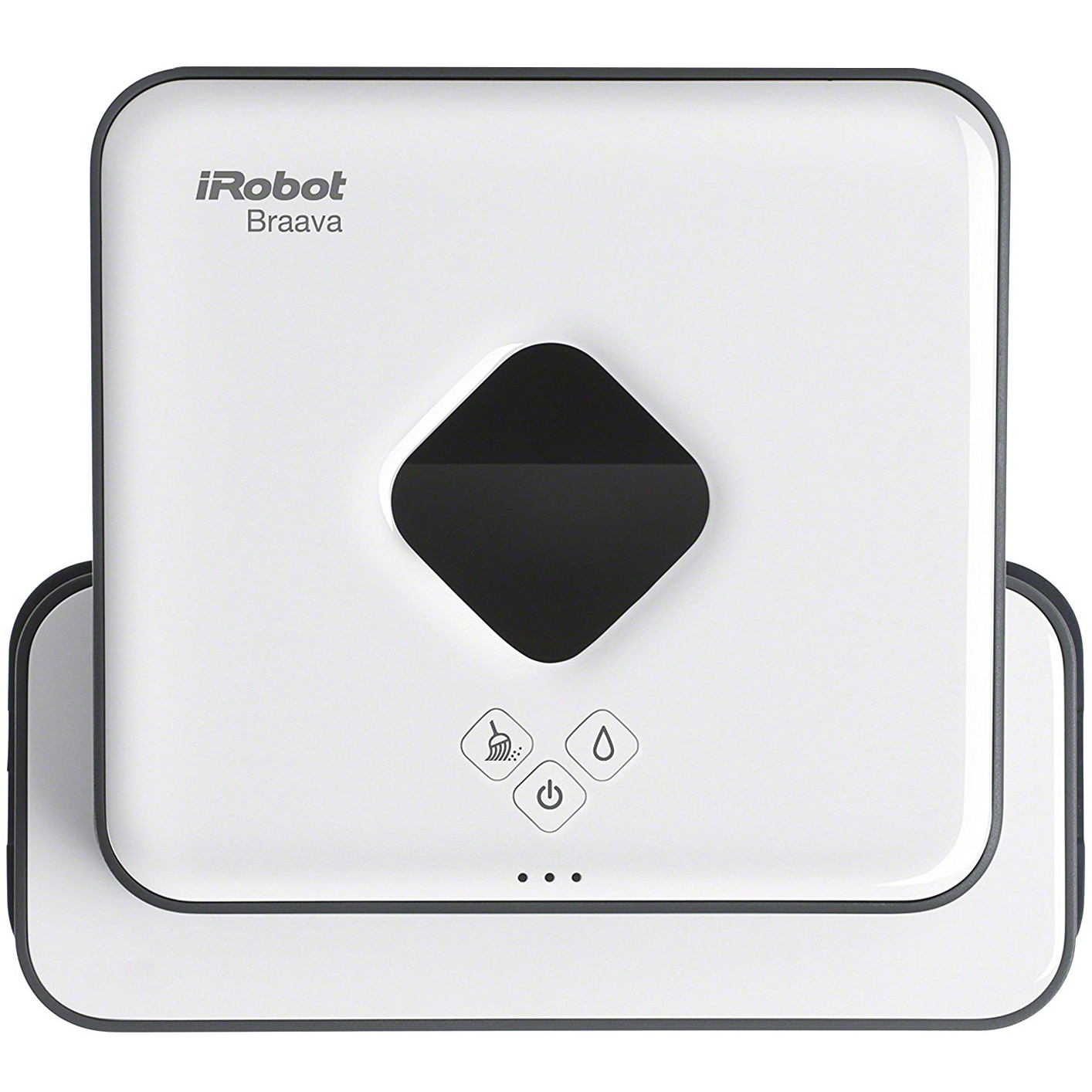 Fotografie Mop robot iRobot Braava 390 Turbo, Panze Microfibra, Mod mop, Pro-Clean, Sistem navigare NorthStar, Alb
