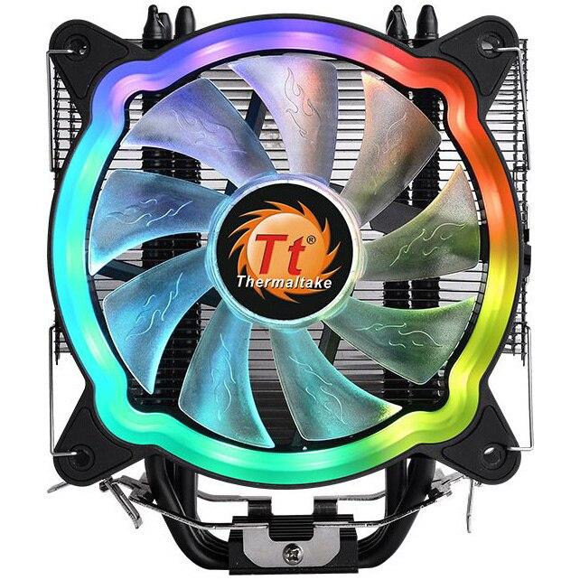 Fotografie Cooler procesor Thermaltake UX200, iluminare ARGB, compatibil AMD/Intel