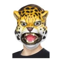 Smiffy's Leopárd maszk gyermekek számára, univerzális méret, rugalmas rögzítés