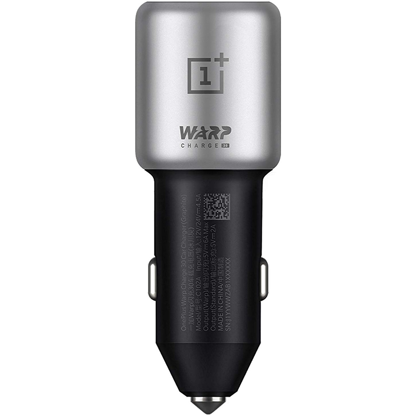 Fotografie Incarcator auto OnePlus Warp Charge 30 Car Charger, Graphite