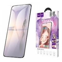Стъклен протектор HOCO. Premium Product Mirror Tempered Glass Full Screen A15 за iPhone 7, 8, Бяла Рамка