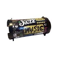 Boxa portabila RoTECH Jazz, Wireless, MP3 Player, Radio FM, 5W, Negru
