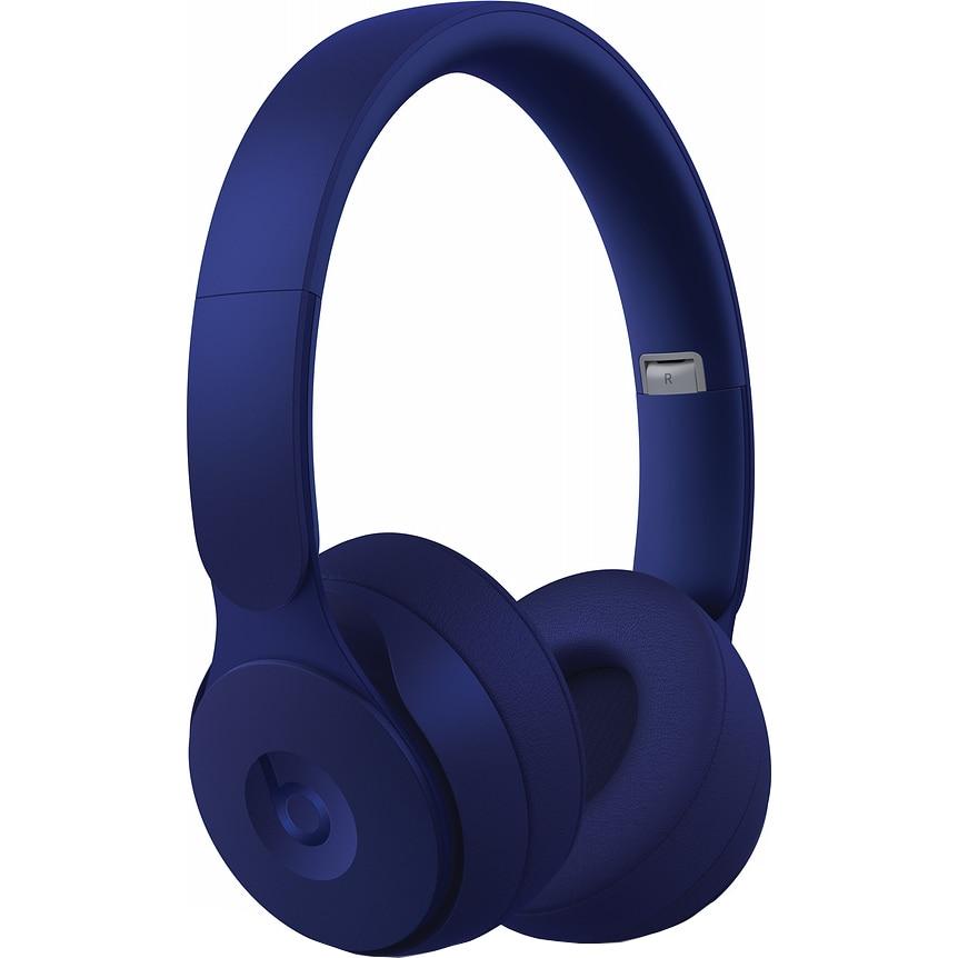 Fotografie Casti Audio On Ear pliabile Beats Solo Pro, Wireless, Bluetooth, Noise cancelling, Microfon, Autonomie 22 ore, Dark Blue