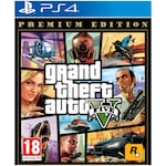 Игра Grand Theft Auto V Premium Edition за PlayStation 4