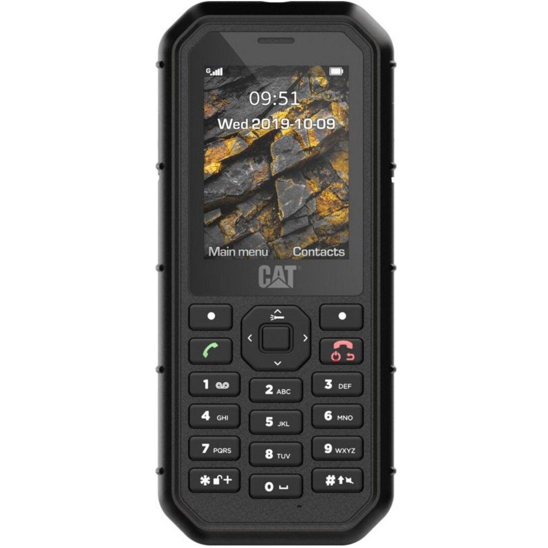Fotografie Telefon mobil CAT B26, Dual SIM, Black