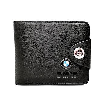 Portofel BMW barbatesc, din piele. Magrot 87, Negru