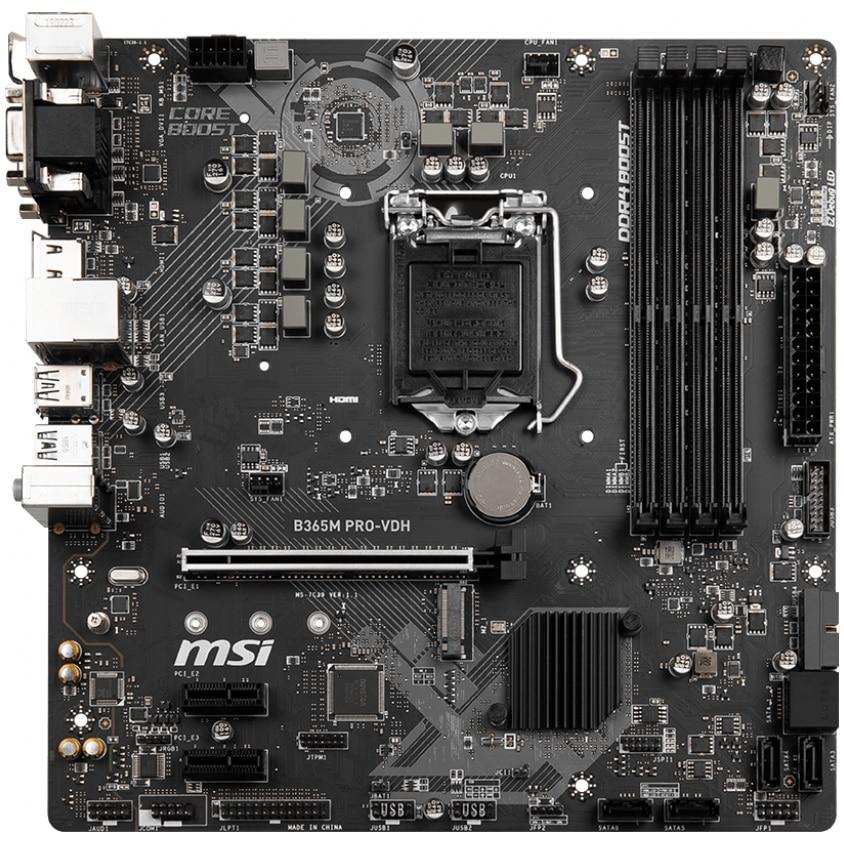 Fotografie Placa de baza MSI B365M PRO-VDH, socket 1151