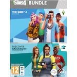 Игра The Sims 4 + EP8 Discover University Bundle за PC