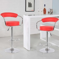 scaune rosii dedeman