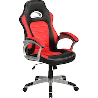 scaun gaming inaza victus negru rosu