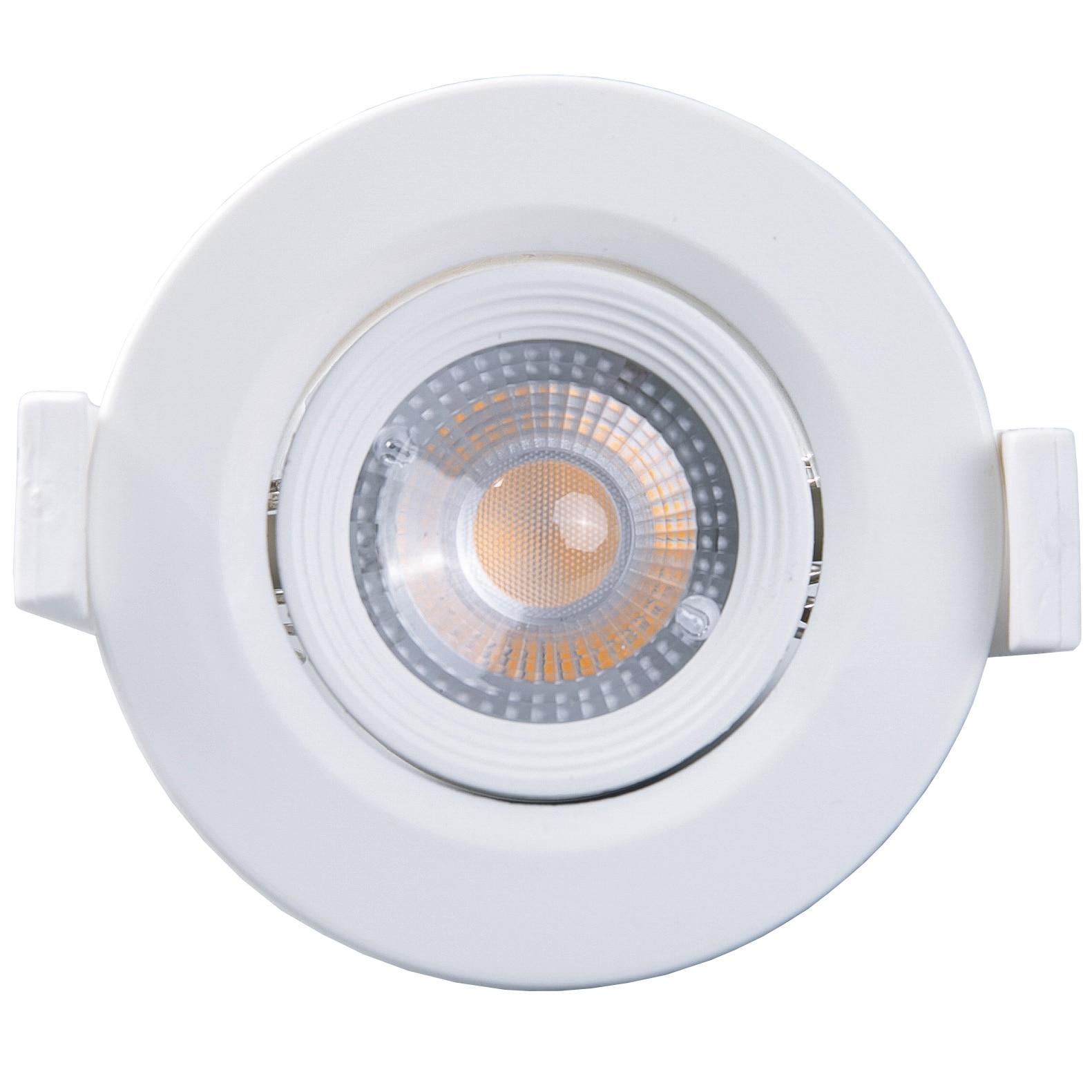 Fotografie Spot LED incastrabil Well Glamor, rotund, 3W, 240 lm, temperatura lumina 6500K, 60mm