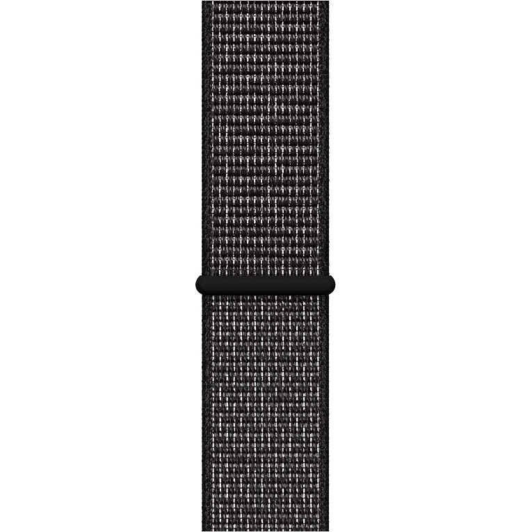 Fotografie Curea pentru Apple Watch 44mm, Nike Band, Black Sport Loop