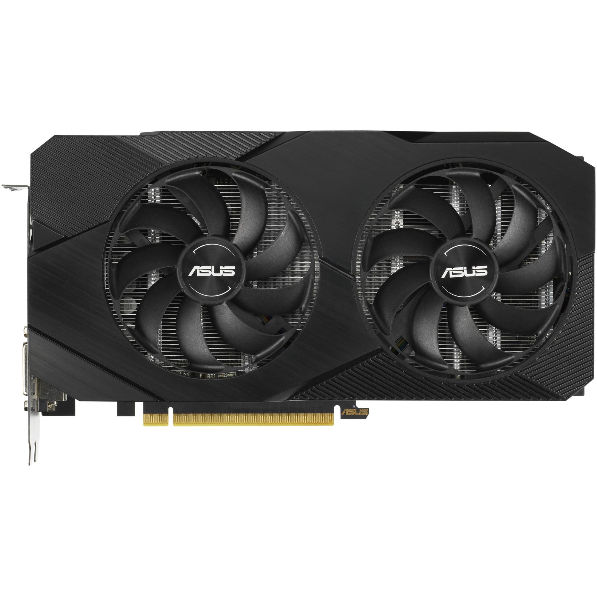 Fotografie Placa video Asus Dual GeForce® GTX 1660 SUPER™ OC Edition, 6GB, GDDR6, 192-bit