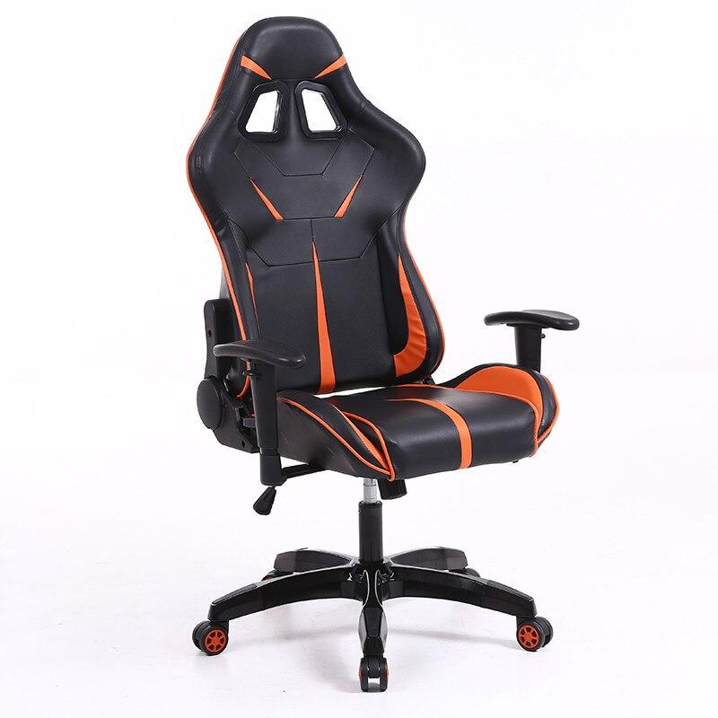 Sintact Gamer szék Narancs Fekete lábtartónélkül