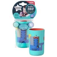 Tommee Tippee 360 Beaker ivópohár, 250 ml, Kék