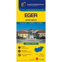 Eger várostérkép (+Heves megye térképe)