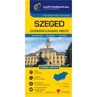 Szeged várostérkép (+Csongrád megye térképe)