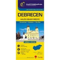 Debrecen várostérkép (+Hajdú-Bihar megye térképe)