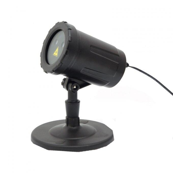 Fotografie Proiector laser tip Star Shower pentru Craciun Phenom, 4 moduri iluminare, 5.4W, 220/240V, IP44, aria acoperita 400 mp, Verde/Rosu