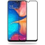 9D Стъклен протектор Full Glue Cover за Samsung A202 Galaxy A20e, Черен