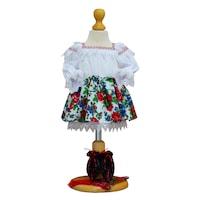 Costum popular fetita 4 piese zona Maramuresului, 6-9 luni (68-74 cm)