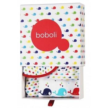 Бебешки комплект за изписване 4 части,Boboli, многоцветен, 1м/56см