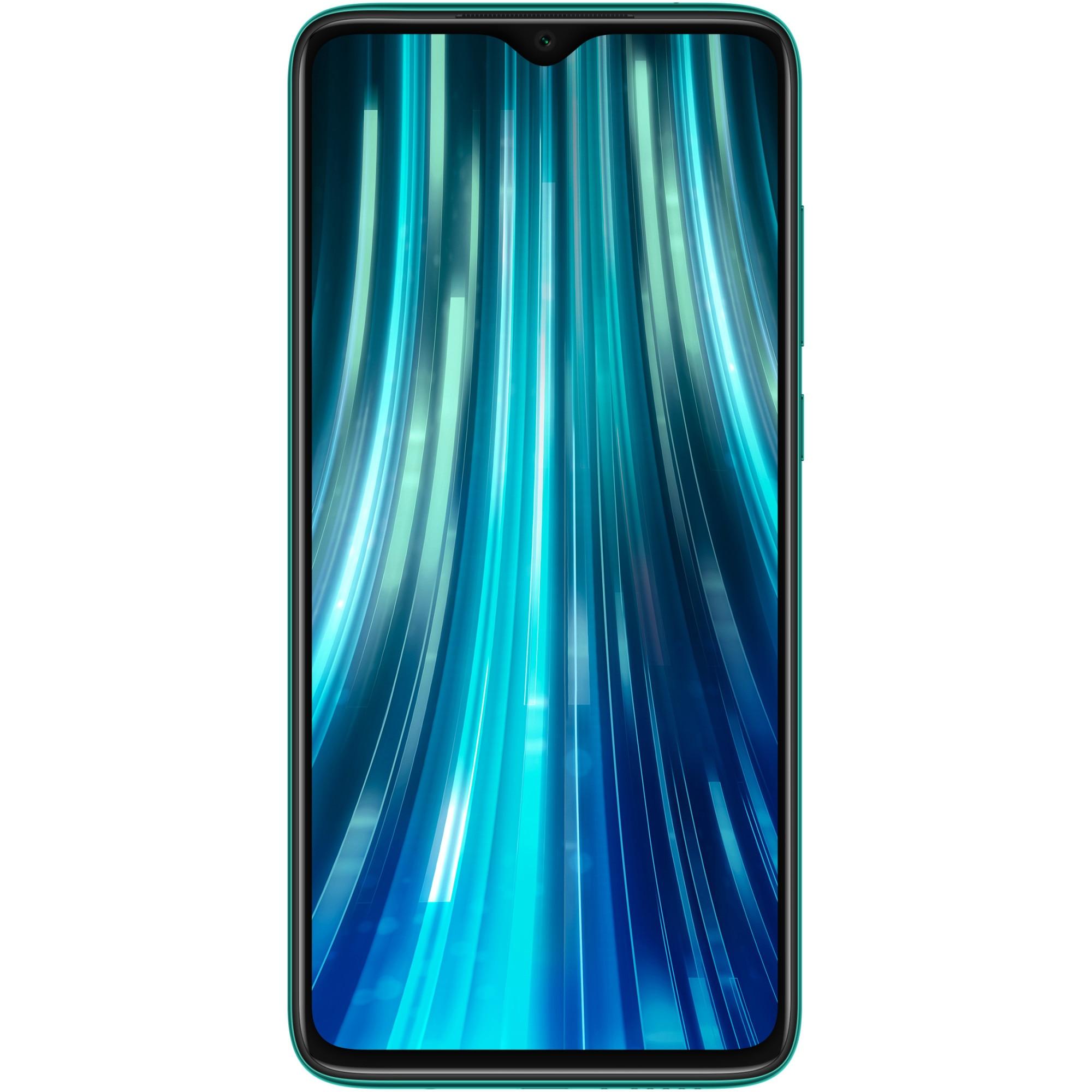 Fotografie Telefon mobil Xiaomi Redmi Note 8 Pro, Dual SIM, 128GB, 6GB RAM, 4G, Forest Green