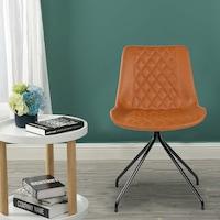 Kring Camus Étkező szék, PU, Karamellbarna