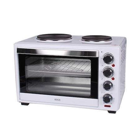 Готварска печка MUHLER MN-3809, 53 x 33 x 32 cm, Бял