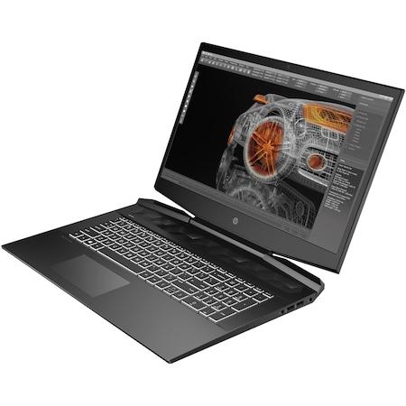 "Laptop Gaming HP Pavilion 15-dk0039nq cu procesor Intel Core i5-9300H pana la 4.10 GHz, 15.6"", Full HD, IPS, 8GB, 512GB SSD, Nvidia GeForce GTX 1050 3GB, Free DOS, Black"