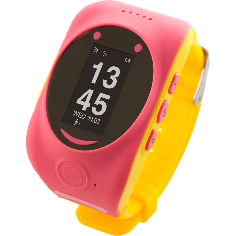 Fotografie Ceas Smartwatch copii MyKi, GPS, Roz/Galben
