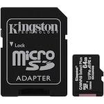Kingston Canvas Select Plus MicroSDHC memóriakártya, 64GB, Class10